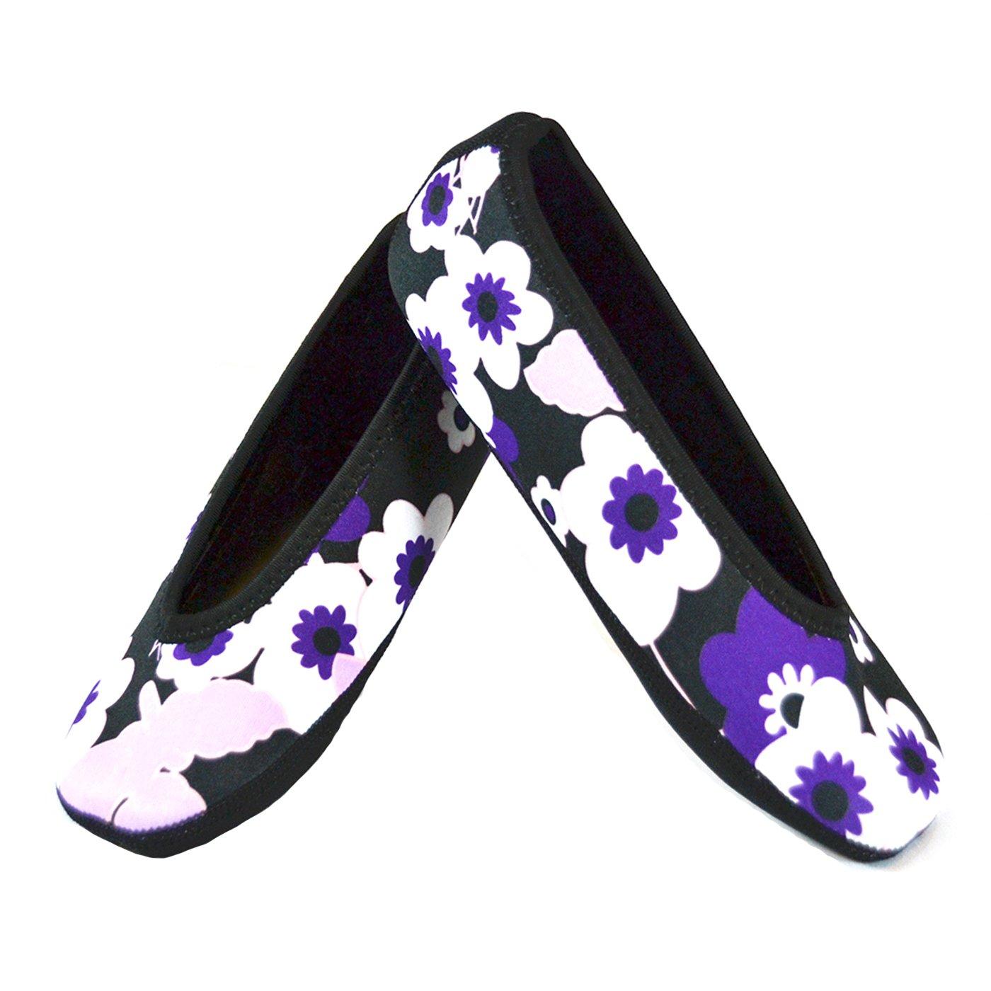 53b2d80ad Amazon.com: NuFoot Ballet Flats Women's Shoes, Best Foldable ...