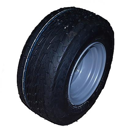 16.5/6.50 - Llanta de neumático de remolque 8 100mm PCD 6PLY 4 Stud 72M