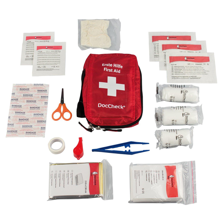 Erste Hilfe Koffer Für Zuhause doccheck erste hilfe set amazon de drogerie körperpflege
