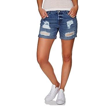 Superdry Steph Boyfriend Shorts at Amazon Women s Clothing store  c8a955414c2d