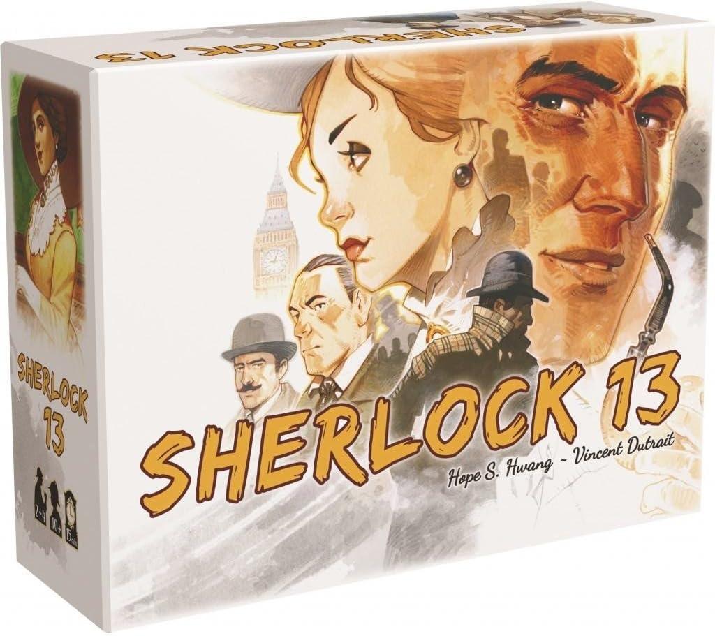 Letheia- Sherlock 13 - Juego de Mesa LET001SH, Multicolor: Amazon ...