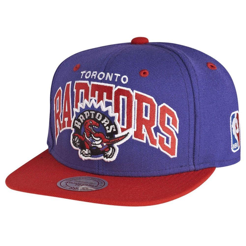 Mitchell   Ness Toronto Raptors NA80Z Team Arch Snapback Cap Black Red NBA   Amazon.it  Abbigliamento f36479d19bdb