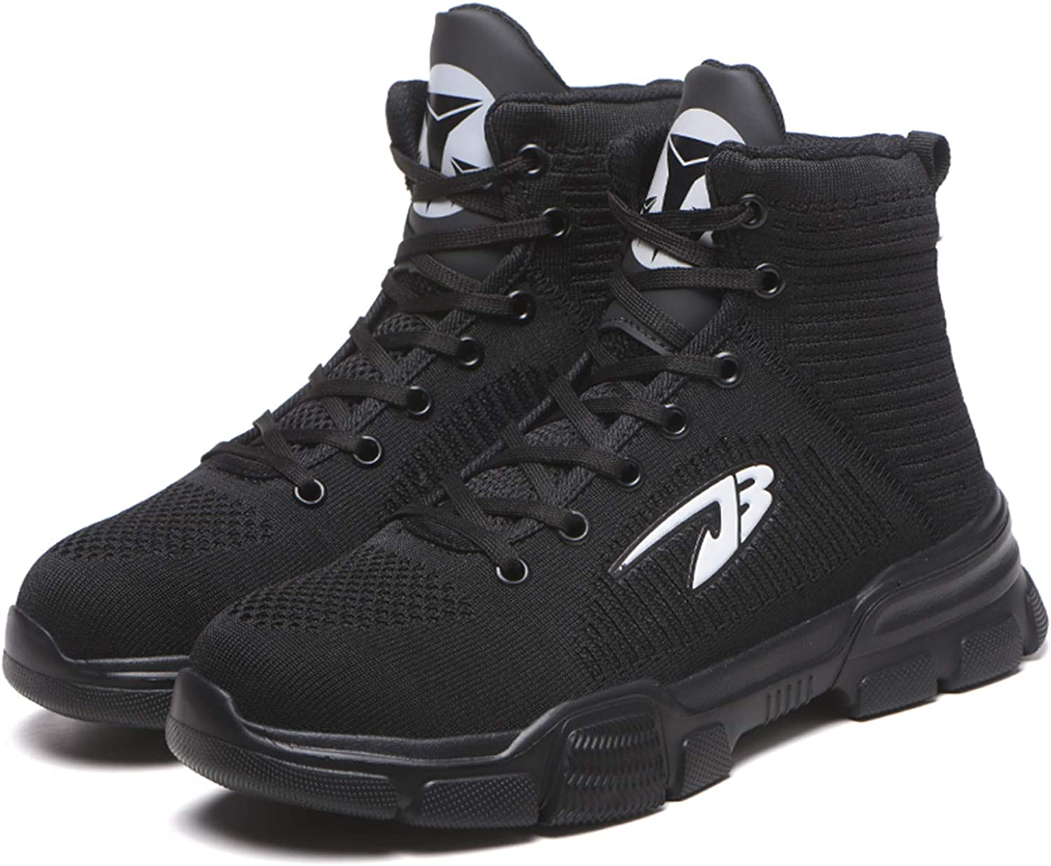 Men Safety Work Shoes Casual Steel Toe Breathable Trainers Hiking Ankle Boots US