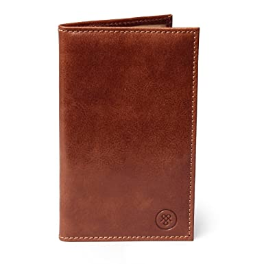 ffc9cff6dced Image Unavailable. Image not available for. Color  Maxwell Scott Luxury Tan  Brown Leather Golf Card Holder (Sestino)