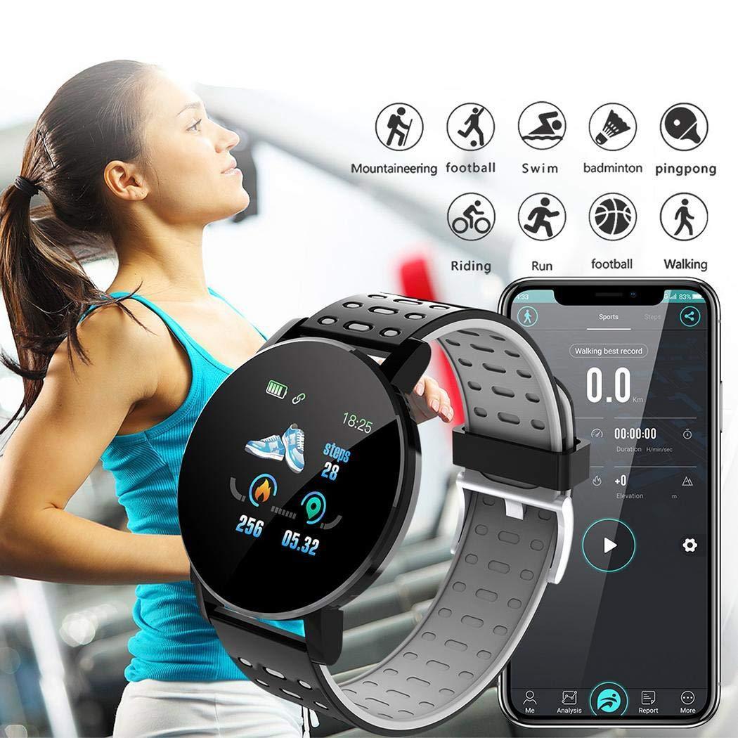pairris Pantalla táctil Smart Watch Sports IP67 Impermeable Monitor de sueño de Ritmo cardíaco Smartwatches