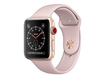 Apple Watch Series 3 OLED GPS (Satélite) Display Diagonal Oro Reloj Inteligente: Amazon.es: Electrónica