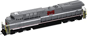 Bachmann GE ES44AC DCC Sound Value Equipped Diesel Locomotive - MONONGAHELA #8025 (with operating ditch lights)- HO Scale