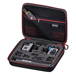 Smatree Carrying Case for GoPro Hero 7/6/5/4/3+/3/ GoPro Hero 2018 (Cameras and Accessories NOT Included)