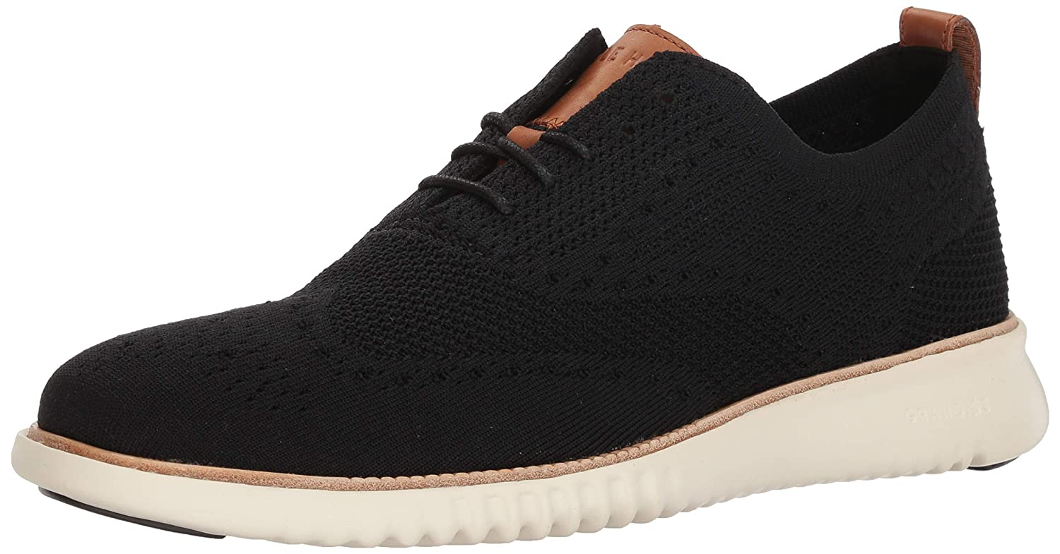 Black Knit Cole Haan Mens 2.Zerogrand Stitchlite Sneaker Sneakers
