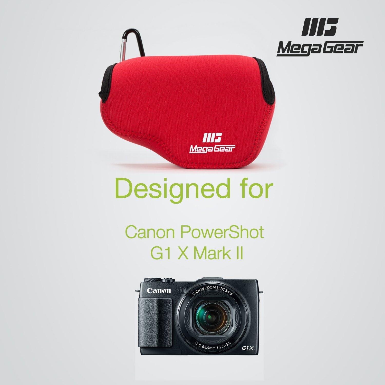 de Neopreno Compatible con Canon PowerShot G3 X MegaGear Estuche de c/ámara Ultra Ligero
