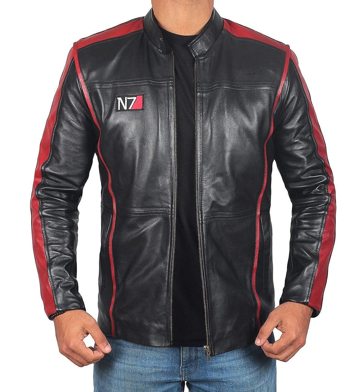 BlingSoul Leather Motorcycle Jacket Men - Winter Black Biker Jackets for Mens 2L-YFR6-9FEP