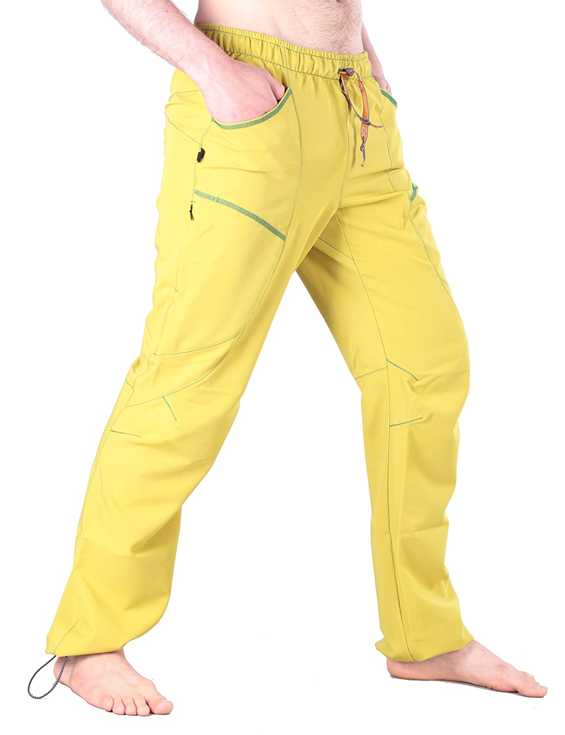 Ucraft Xlite Rock Climbing Bouldering and Yoga Pants Lightweight Stretchy Trousers