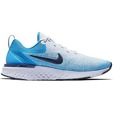 24464734094b Nike Odyssey React Sz 6 Womens Running Football Grey Blue Void-Blue Hero  Shoes