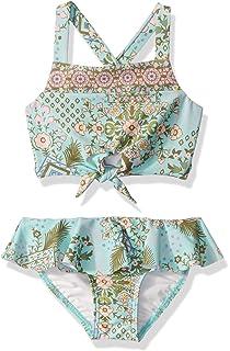 Seafolly Girls Handkerchief Top Bikini Swimsuit Set