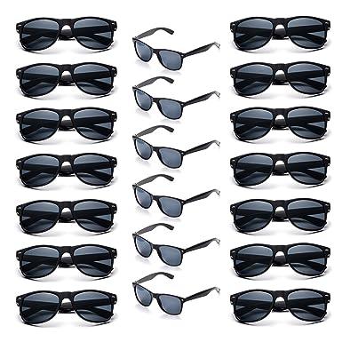 631972ea80 Image Unavailable. Image not available for. Color  Onnea Wholesale Multi  Pack Unisex 80 S Retro Vintage Style Promotional Sunglasses ...