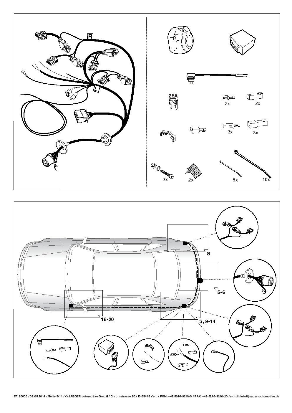 UmbraRimorchi Mazda CX-5 2-4WD 2012-2015 Vertikal Anh/ängerkupplung mit Abnehmbarem Kugelkopf mit 13p Spezif ESatz UT220COR06ZVMM//WS21120508DE1