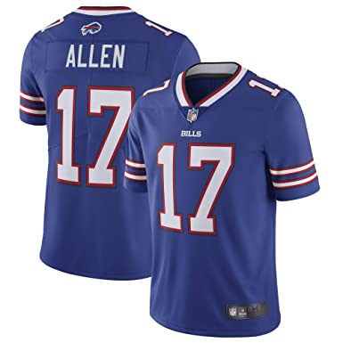 Amazon Football Buffalo - Bills Blue 17 Men's Nfl Allen Josh Jersey Clothing com