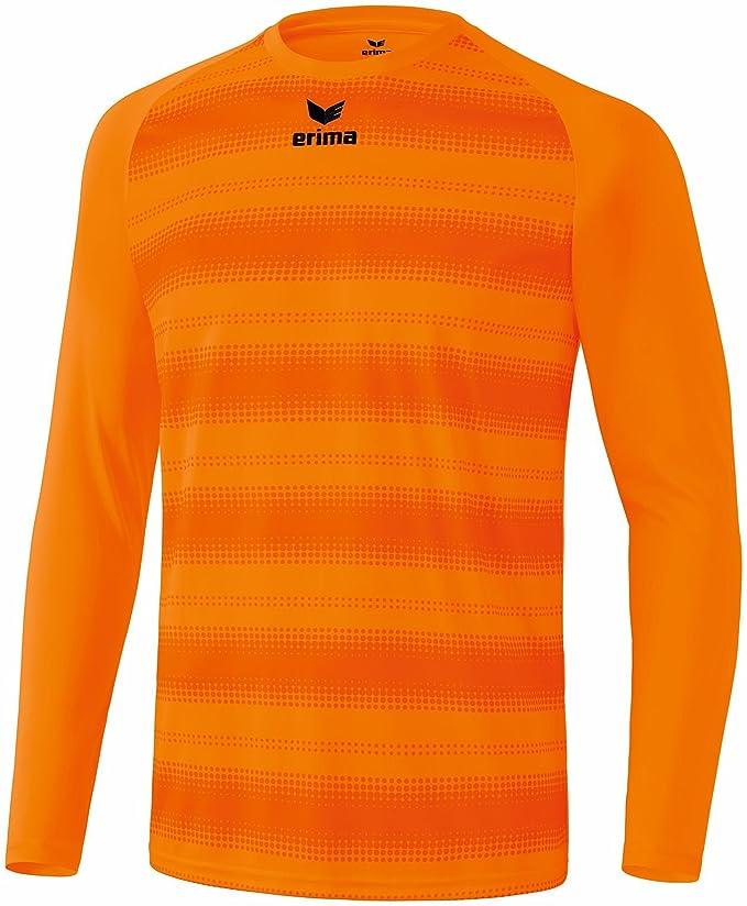 erima Santos Camiseta de manga larga camiseta de fútbol, naranja ...