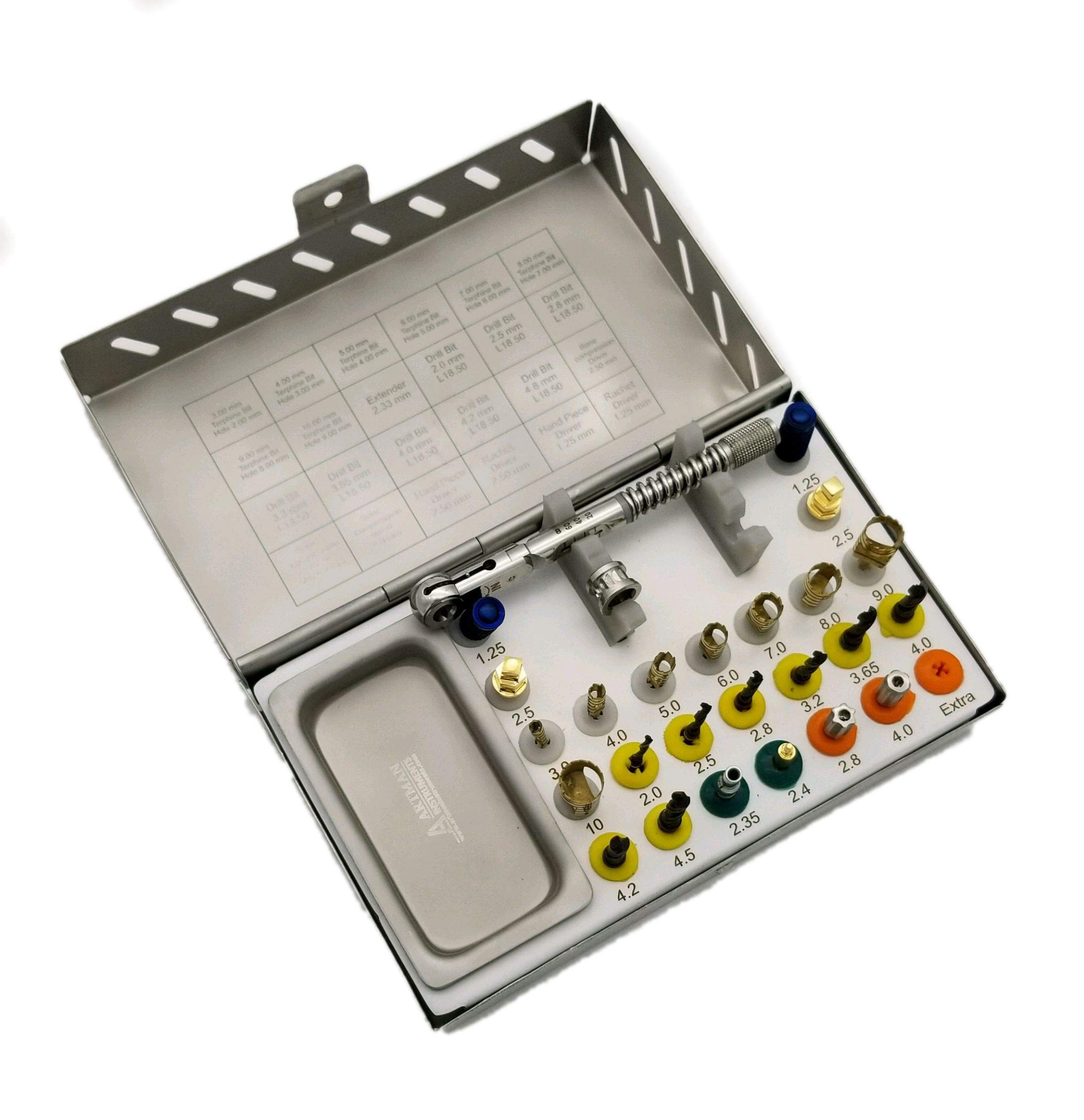 Dental Implant Kit 25 pcs implant Placement Insertion Removal kit by ARTMAN by ARTMAN (Image #1)