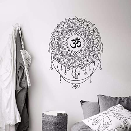 Geiqianjiumai Estilo Bohemio Ohm Yoga Mandala Pintura de la ...