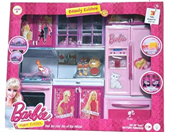 Buy Her Home Barbie 3 Set Beautiful Vogue Kitchen Online At Low