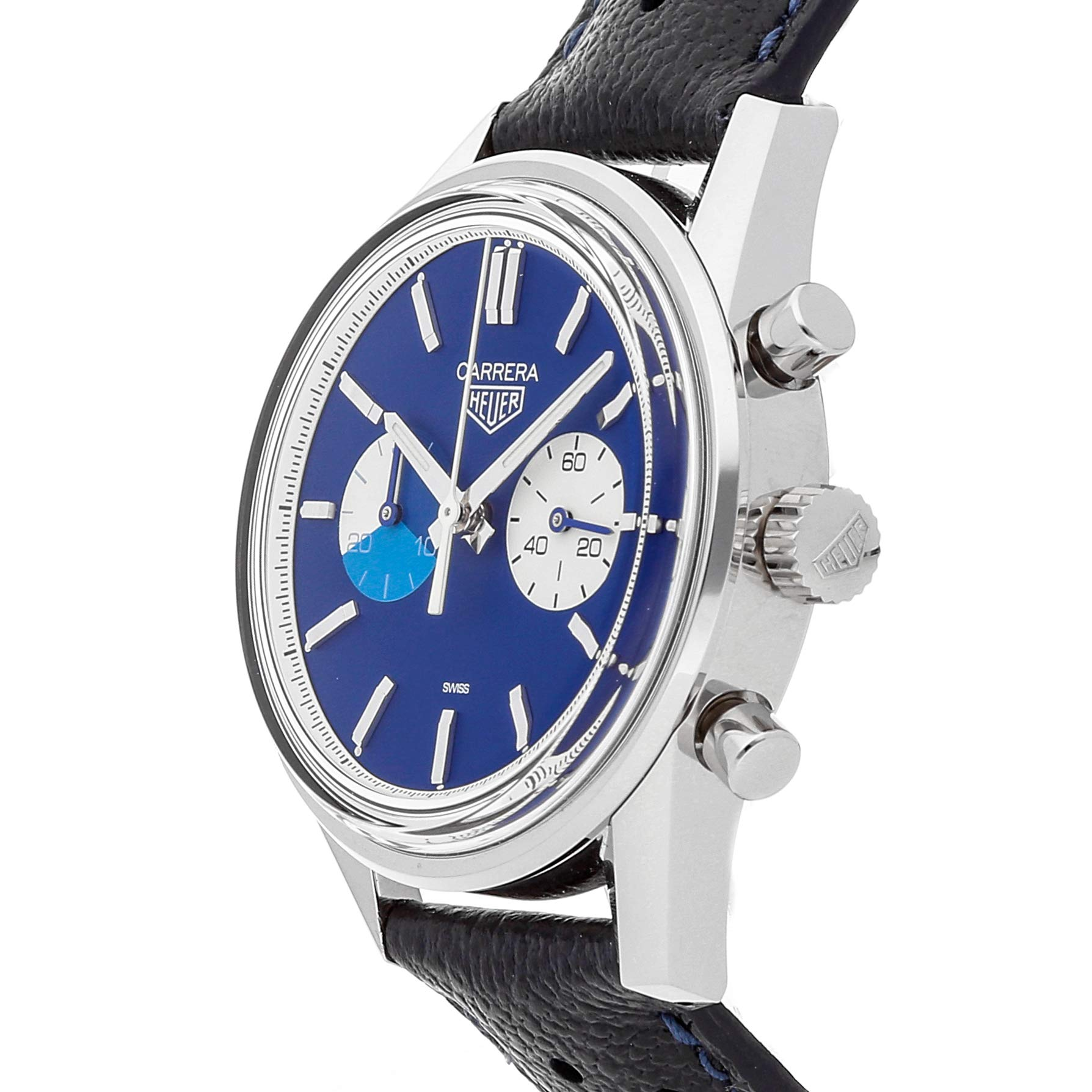 f2debd80bd934 Tag Heuer Carrera Mechanical (Automatic) Blue Dial Mens Watch ...