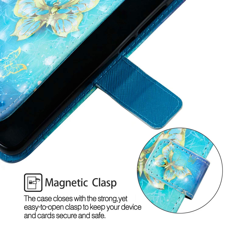 Schutzh/ülle H/ülle Flip Case 3D Bunt Muster Cover Magnet Leder Tasche Handyh/üllen mit Kartenfach f/ür LG G7 ThinQ//LG G7 ZCRO Handytasche f/ür LG G7 ThinQ//LG G7