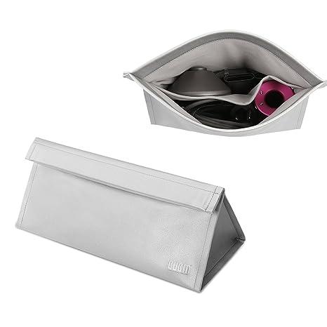 Bolsa de viaje portátil de piel sintética para secador de pelo Dyson Supersonic