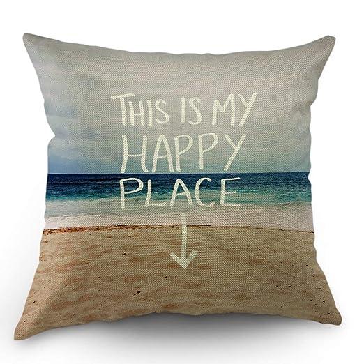 odin sky Almohada de Playa Cojín Decorativo Funda de ...