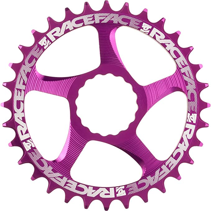 RaceFace Narrow Wide Cinch Direct Mount Chainring Purple, 30T