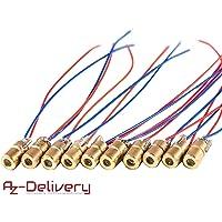 AZDelivery 10 x Módulo láser de diodo