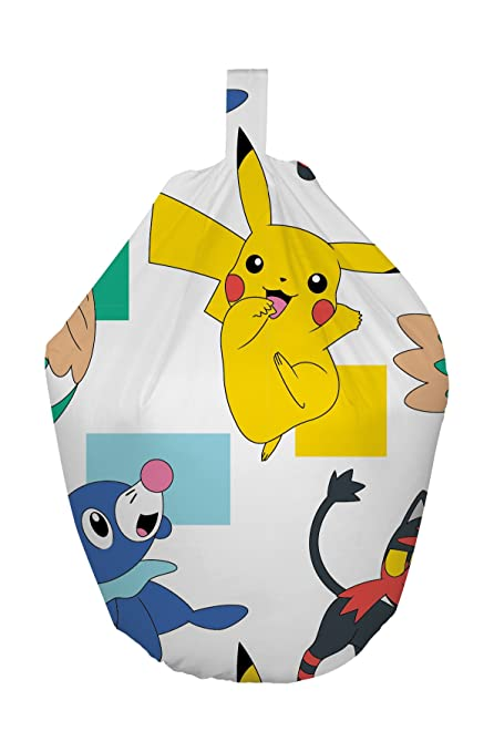 Tremendous Pokemon Dash Bean Bag Chair A Pikachu Design Officially Gmtry Best Dining Table And Chair Ideas Images Gmtryco