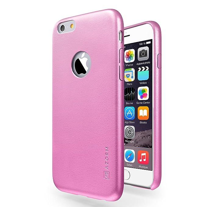 custodia iphone 6 pelle rosa