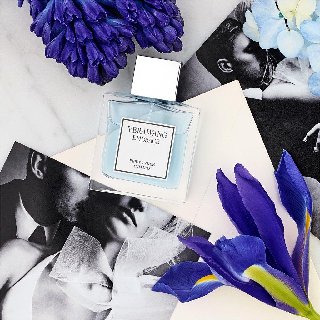 Vera Wang Embrace Eau de Toilette Periwinkle and Iris Scent 1 Fluid Oz. Women's Cologne Passionate, Floral and Sparkling Fragrance by Vera Wang (Image #4)