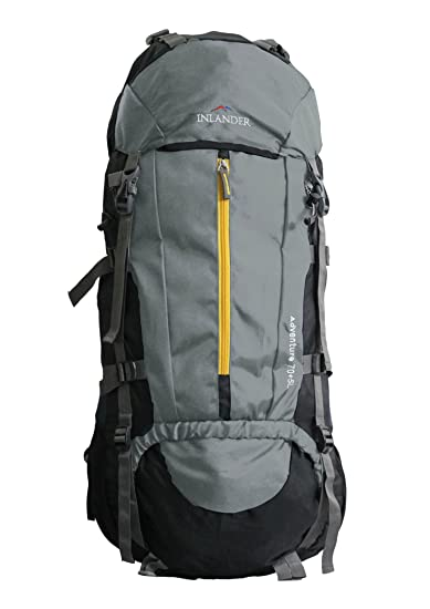 Inlander 70 Ltrs Grey Rucksack (1009)  Amazon.in  Bags, Wallets ... 7f45672dc2