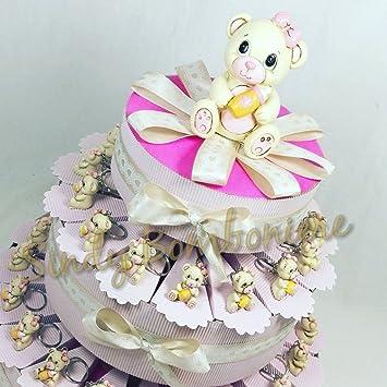 Kuchen Bomboniera Geburt Taufe 1 Geburtstag Bar Schlusselkette