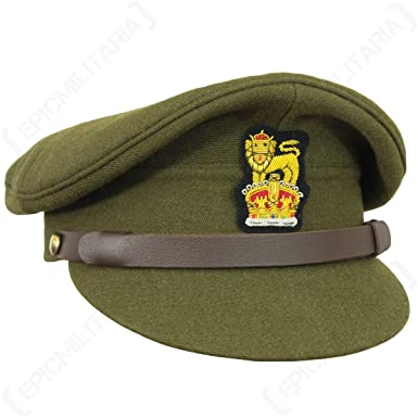 Amazon.com  Epic Militaria Replica WW2 British RAF Visor Cap  Clothing 54cbc230ee5