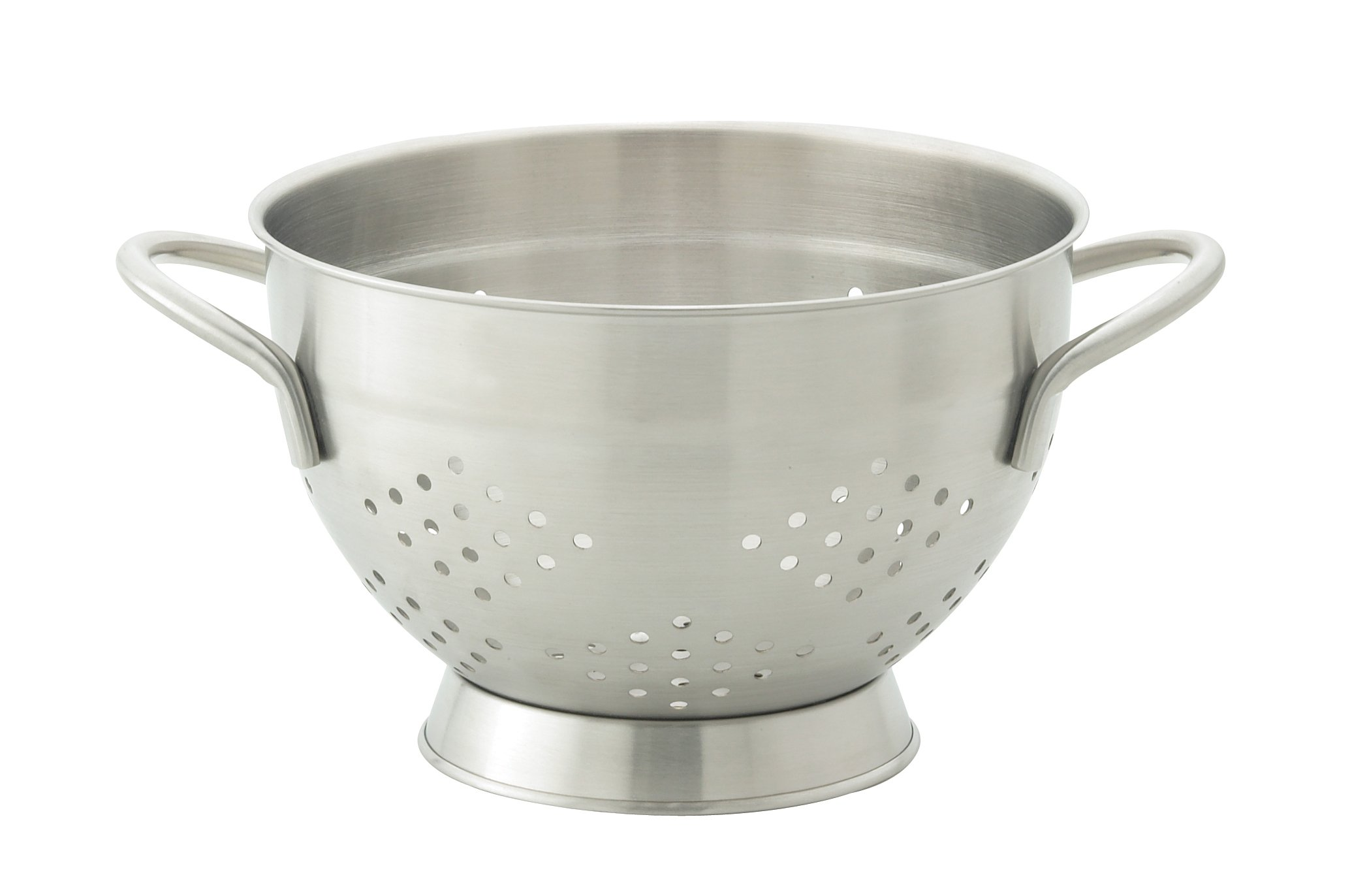 HIC Harold Import Co. 48010 HIC EssentialsStainless Steel Pierced Colander, 2 Quart, by HIC Harold Import Co.