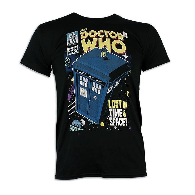 17 opinioni per Doctor Who- Maglietta a maniche corta per uomo- Tardis