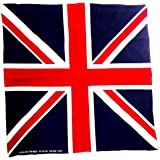 Union Jack Bandana / Bandanna Made from 100% Cotton (55cm x 55cm)