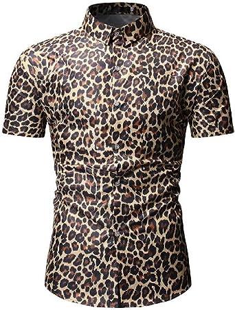 KLJR - Camisa de Trabajo para Hombre, Manga Corta, diseño de ...