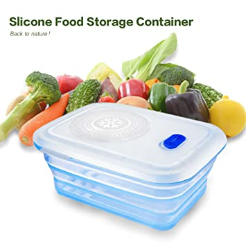 Amazoncom Partita Silicone Food Storage Container15oz Leakproof