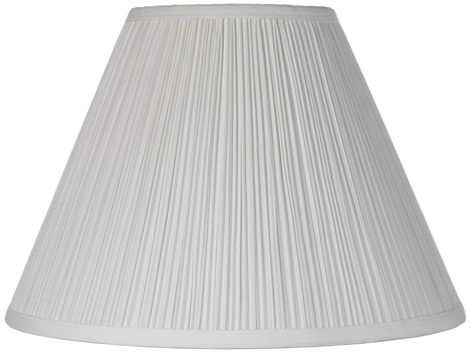 Brentwood Antique White Lamp Shade 6.5x15x11 (Spider)