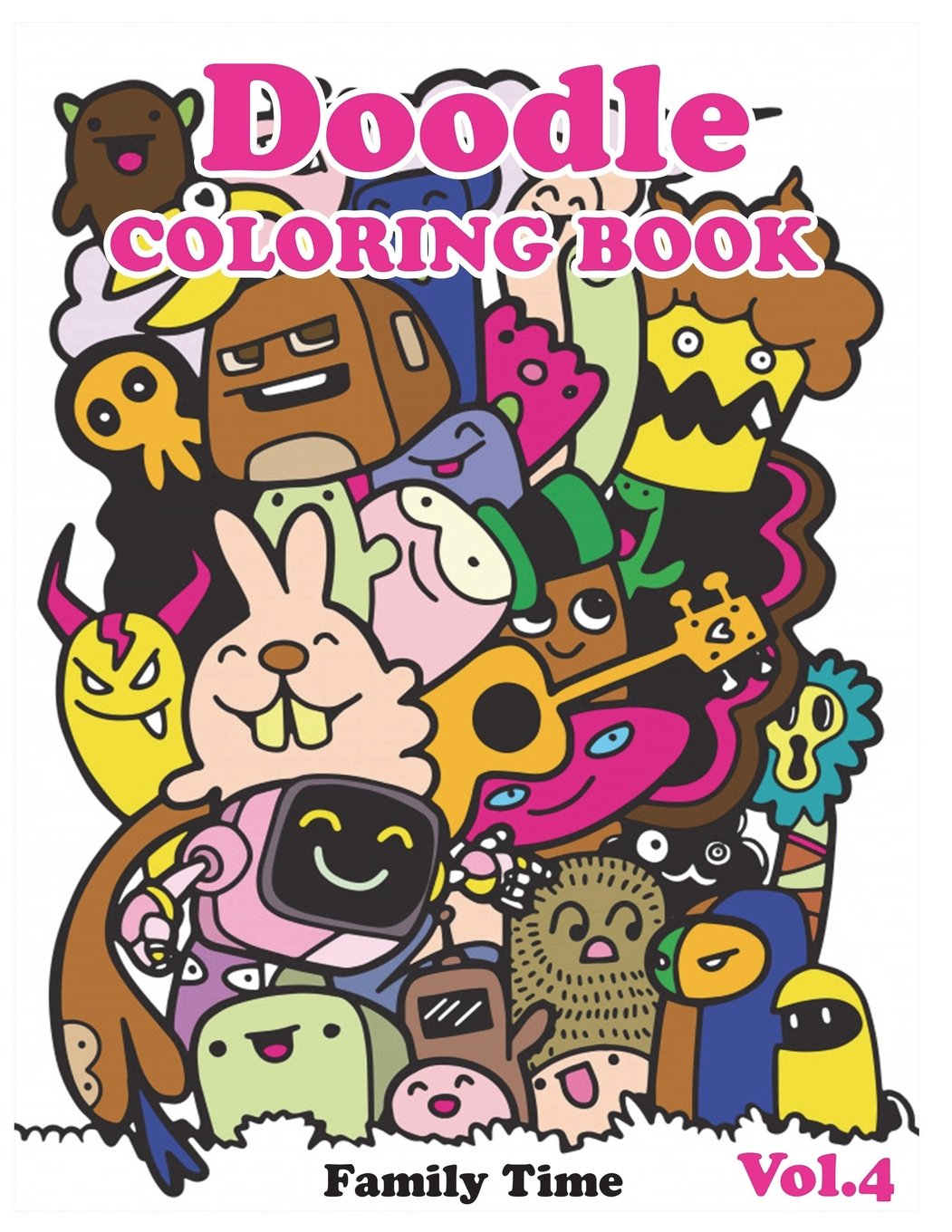 - Amazon.com: Doodle Coloring Books: Adult Coloring Book With Fun