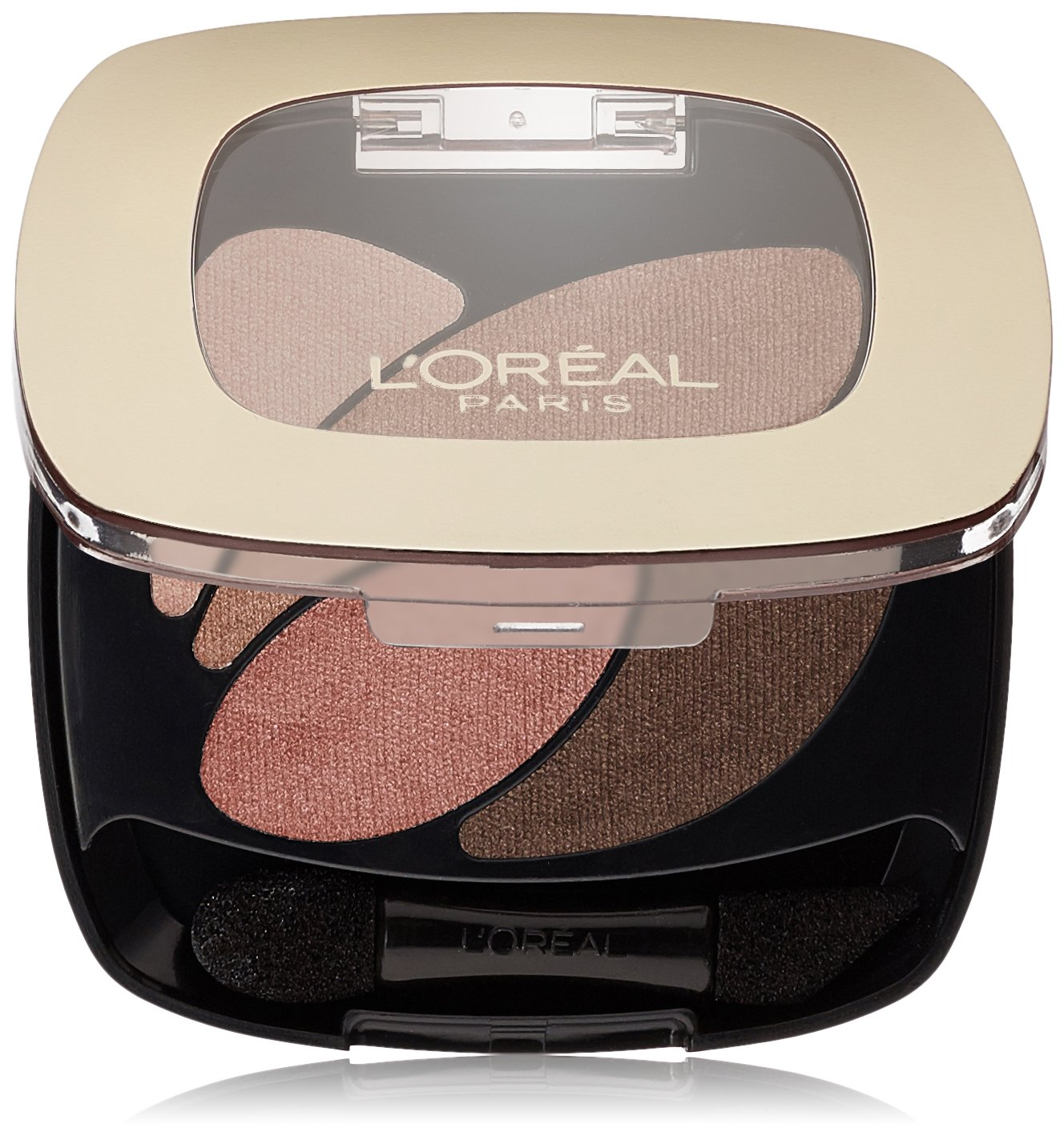 L'Oreal Paris Colour Riche Dual Effects Eyeshadow, Rose Nude [300] 0.12 oz