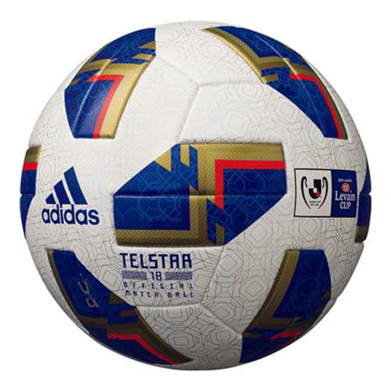 adidas(アディダス)テルスター18 Jリーグ ルヴァンカップ 5号球 公式試合球 AF5300LC B07BXYS8Q8ホワイト 5号球