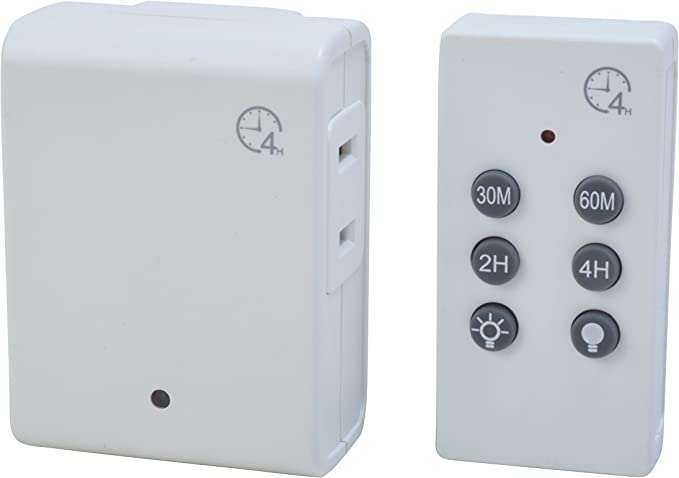 YRW Smart Control Countdown Timer Switch Plug-in Socket Auto Shut Off Outlet UK Plug