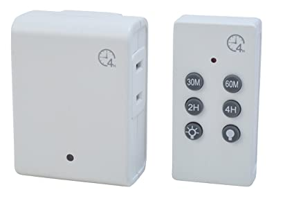 Woods 59781WD Indoor Wireless Remote Control Timer with Countdown ...