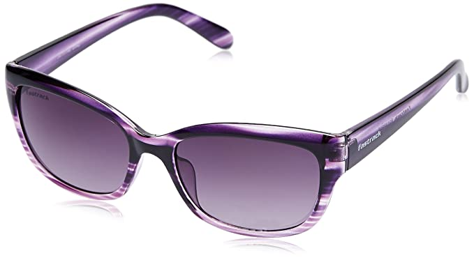 Fastrack UV Protected Cat Eye Women s Sunglasses (P313PR2F 54 Purple ... 2172e96bf4