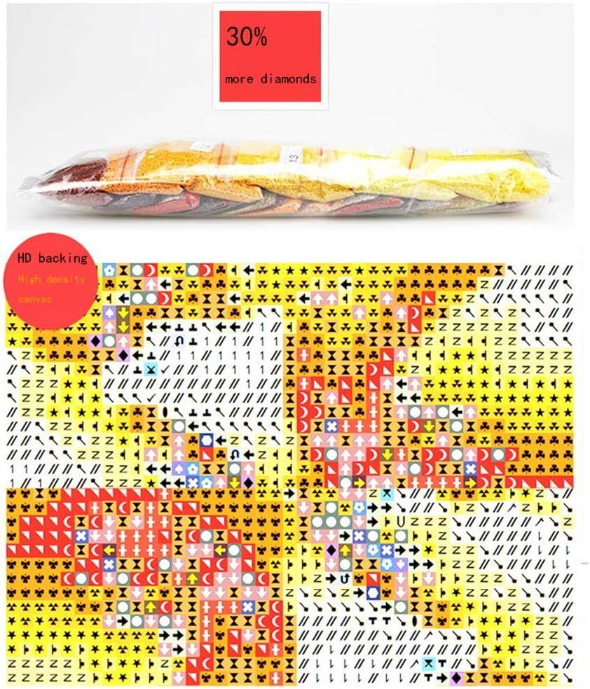 5D Diamante Pittura Taglia Larga DIY Kit Completo Diamond Painting Mosaico Full Trapano Strass Ricamo Punto Croce Arte di Casa Decor Della Parete Faraoni dEgitto vintage Punta circolare,30x60cm